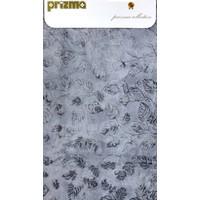 Prizma 2`li Banyo Paspas Takımı - Yaprak Gri
