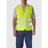 İş Yeleği İkaz Yeleği Reflektörlü Fosforlu Yelek İş Güvenliği