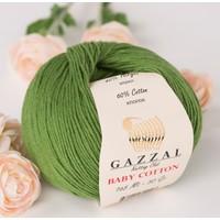 Gazzal Baby Cotton Pamuk El Örgü İpi - (Bebek Yünü)