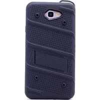 Gpack Samsung Galaxy J7 Prime Kılıf Standlı İron Arka Kapak