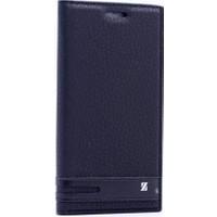 Case Man Meizu M1 Note Kılıf Elegant Kapaklı + Temperli Cam + Cep Bakım Kiti