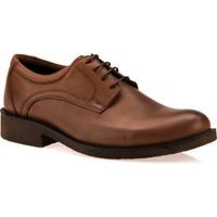 Ziya Erkek Hakiki Deri Ayakkabı 7329 03 Taba