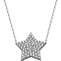 Pigoda 925 Ayar Gümüş Zirkon Taş Yıldız Kolye