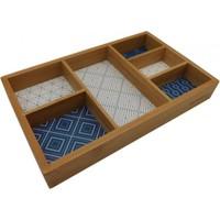 İkram Dünyası Bambum Boxy - 6 Bölmeli Takı Kutusu