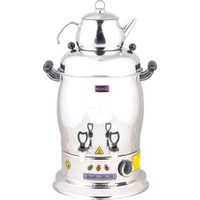 İkram Dünyası Remta Magnum Çift Demlikli Çay Makinesi 22 Lt