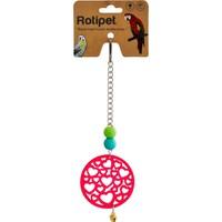 Rotipet Kuş Oyuncağı Geometrik Şekilli Ahşap Sarkaç