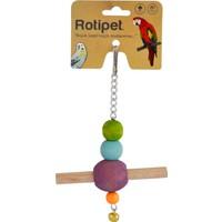 Rotipet Kuş Oyuncağı Tünekli Sarkaç