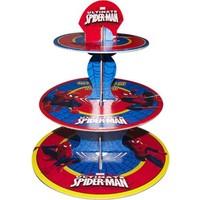 Pandoli Spiderman Cupcake Standı