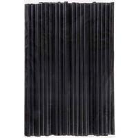 Pandoli Plastik Siyah Renk Pipet 100 Adet