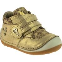Perlina Kız Çocuk 509 Papy İlk Adim Altın Ayakkabı
