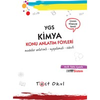 Ygs Kimya Konu Anlatım Föyü (29 Föy + Çözüm Kitapçığı)