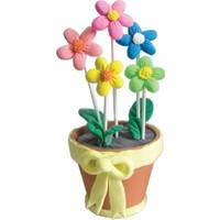 Paulinda Proje Hamuru Çiçek Sepeti