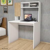 Hepsiburada Home Hayel Çalışma Masası Beyaz-Safir