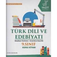 9. Sınıf Türk Dili Ve Edebiyatı Konu Kitabı