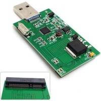 Alfais 4905 Msata Mini Sata To Usb 3.0 Çevirici Dönüştürücü Adaptör