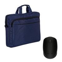 Logıtech Logitech Mavi Laptop Çantası + M170 Kablosuz Mouse Kit