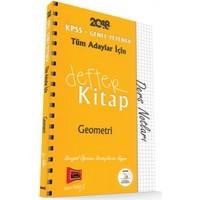 Yargı Yayınevi Yargı Yayınları 2018 Kpss Tüm Adaylar İçin Defter Kitap Geometri Ders Notları - Deniz Atalay