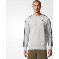 Adidas Bq9642 Ess 3S Crew B Erkek Sweatshirt