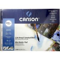 Canson Resim Blok 35X50 Finface 200 Gr 15Yp 153550