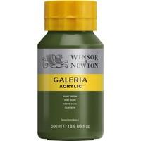 Winsor & Newton Galeria Akrilik Boya 500Ml - Olive Green 447