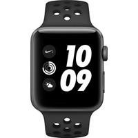 Apple Watch Nike+ (2017) 42mm Uzay Grisi Alüminyum Kasa Ve Antrasit/Siyah Nike Spor Kordon - MQL42TU/A