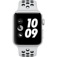 Apple Watch Nike+ (2017) 38mm Gümüş Rengi Alüminyum Kasa Ve Saf Platin/Siyah Nike Spor Kordon - MQKX2TU/A
