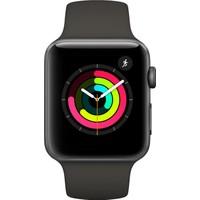Apple Watch Seri 3 42mm Uzay Grisi Alüminyum Kasa ve Gri Spor Kordon - MR362TU/A