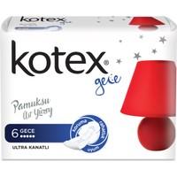 Kotex Ultra Hijyenik Ped Gece (6 Adet)