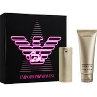 Emporio Armani 30 Ml Edp Kadın Parfüm + 75 Ml Vücut Losyonu Seti