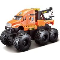 Maisto Quarry Monster Mini Motorlu Çekici İş Makinası Turuncu