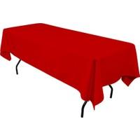 Masallar Evi Kırmızı Masa Örtüsü