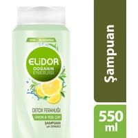 Elidor Detox Limon Şampuan Serisi 550 ml