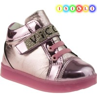 Vicco 220.V.150 Bebe Işikli Pembe Çocuk Ayakkabı