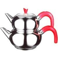 Emsan Hünkar Çaydanlık Takımı Kırmızı