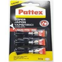 Süper Mini Japon Yapıştırıcı Pattex 3x1Gr