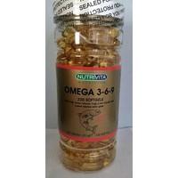 Nutrivita Omega 3 6 9 Balık Yağı Fish Oil 200 Softjel