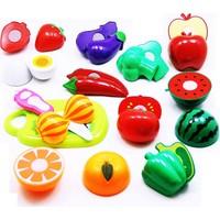 Güven Oyuncak Oyuncak 24 Prç. Meyve Sebze Kesme Seti