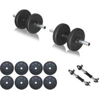 Ecgspor 20Kg Dambıl Seti Ağırlık Seti Fitness Seti
