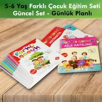 Bal Çocuk Yayınları Farklı Çocuk 5-6 Yaş Okul Öncesi Eğitim Seti