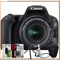 Canon Eos 200D 18-55Mm Is Stm Fotoğraf Makinesi + Kitli