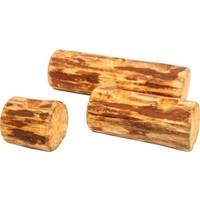 Moniwoood Moni Wood Yatay Silindir Mumluk 3'Lü Set