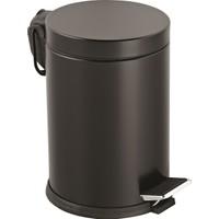 5 Lt.Renkli Pedallı Çöp Kovası Siyah