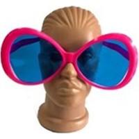 Fonnava Büyük Oval Parti Gözlüğü Pembe