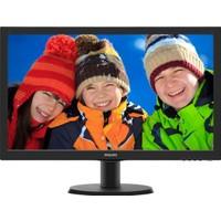 Philips 243V5LHSB5-00 23.6'' 1ms (Analog+DVI+HDMI) Full HD Led Monitör