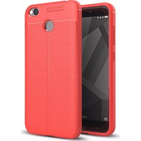 Case 4U Xiaomi Redmi 4X Kılıf Darbeye Dayanıklı Niss Kırmızı