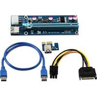 Ryder PCIE pcie Pci Express Riser 1x to 16x USB 3.0 Mining Rigleri için Ekran Kartı Uzatma Devresi