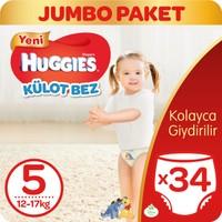 Huggies Pants Külot Bebek Bezi 5 Beden Junior 12-17 kg 34 adet