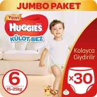 Huggies Pants Külot Bebek Bezi 6 Beden Extra Large 15-25 kg 30 adet