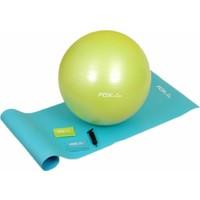 Fox Fitness 4'Lü Pilates Seti 3 (Pilates Top + Minder + Egzersiz Bantları