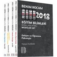 2018 Kpss Eğitim Bilimleri Konu Anlatımlı Modüler Set Benim Hocam Yayınları